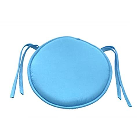 1 Pcs Indoor Dining Garden Patio Home Office Kitchen Round Chair Seat Pads Cushion By (Round Chair Pads With Ties)