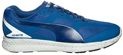 Puma Baskets en Daim Classique, Basses mixte adulte, bleu, 10.5 UK