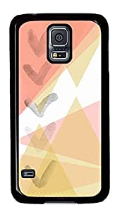 Samsung Galaxy S5 case Best Abstract Cute PC Black Custom Samsung Galaxy S5 Case Cover