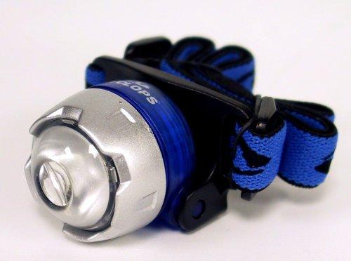 Cyclops CYC-ULH1-CB Atom Miniature LED Headlamp, White LED, Blue