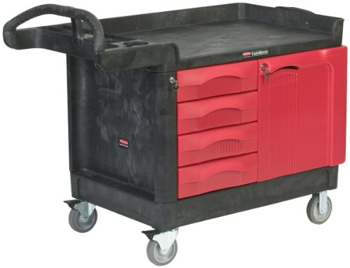 4 drawer service cart - 2