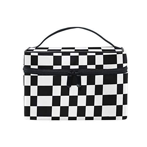 Car Pennants Women Makeup Bag Travel Cosmetic Bags Toiletry Train Case Beauty Pouch ()