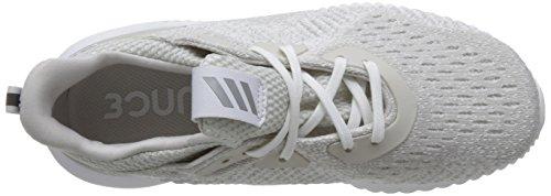 Adidas Kvinders Alphabounce 1 W, Grå / Sølv Metallic / Ikke Farvet Grå / Sølv Metallic / Ikke Farvet