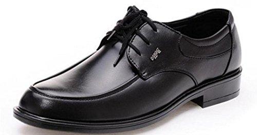 Mlsopx Negocios Zapatos Cuero Transpirables Hombre 39 De Vestir Para rZrq6R