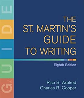 Amazon loose leaf version for the st martins guide to writing the st martins guide to writing fandeluxe Image collections