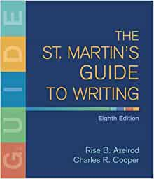 st martins guide to writing