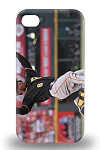 Iphone 4/4s Hard 3D PC Case With Awesome Look MLB Pittsburgh Pirates Starling Marte #6 ( Custom Picture iPhone 6, iPhone 6 PLUS, iPhone 5, iPhone 5S, iPhone 5C, iPhone 4, iPhone 4S,Galaxy S6,Galaxy S5,Galaxy S4,Galaxy S3,Note 3,iPad Mini-Mini 2,iPad Air )