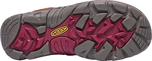 KEEN Women's Laurel Mid WP-w Trail Runner, Monks Robe/Rhododendron, 9 M US by KEEN (Image #2)