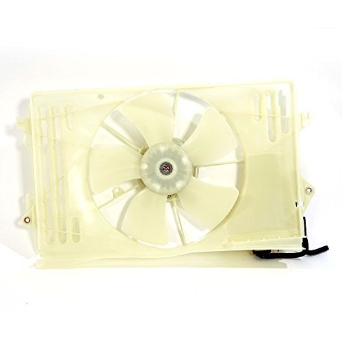 For Toyota Corolla Matrix Pontiac Vibe Condenser Cooling Fan Assembly 1.8L 1794CC l4 ()