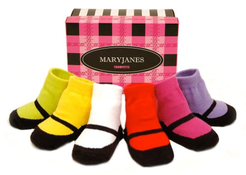 Trumpette Mary Jane Box Set – Brights 1-2 Years