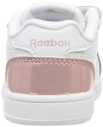 Deporte White Multicolor Metallic Zapatillas Pink 000 De Reebok new Mujer Dv4150 Para YpzHt