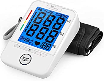 Amzdeal Blood Pressure Cuff BP Machine with Heartbeat Detector