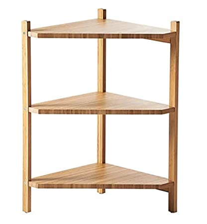 WASH Basin RÅGRUND - IKEA - Wash-Basin Corner Shelf Bamboo Size 34x60 cm (13 3/8x23 5/8)