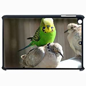 Customized Back Cover Case For iPad Air 5 Hardshell Case, Black Back Cover Design Bird Personalized Unique Case For iPad Air 5 wangjiang maoyi by lolosakes