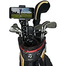 Golf Gadgets - Swing Recording System | Jaws Clamp & Gooseneck Mount for Smartphone. Compatible with iPhones, Samsung Galaxy, HTC, ANY Phone, etc. (Jaws Clamp)