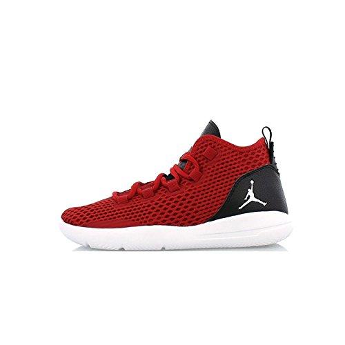 De Zapatillas Nike White black 23 Baloncesto Para gym Red Gym white infrrd Rojo infrrd Red 23 black Niños RRr0q6