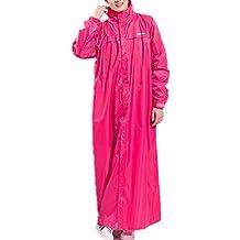 Rainfly Super Long Raincoat Unisex Men Women Hooded Rain Cape