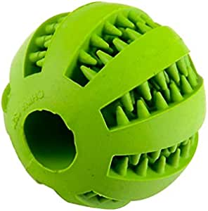 Anything Pets Dog Chew Ball Dog Toy Food Treat Pet Toy Training Dental Chew Treat Balls for Dogs & Cats
