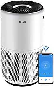 LEVOIT Air Purifiers for Home Large Room, Smart WiFi and Alexa Control, H13 True HEPA Filter for Allergies, Pe