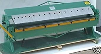 """HHIP 8600-4032 High Quality 48"""" Sheet Metal Pan and Box Brake, 16 Gauge"""