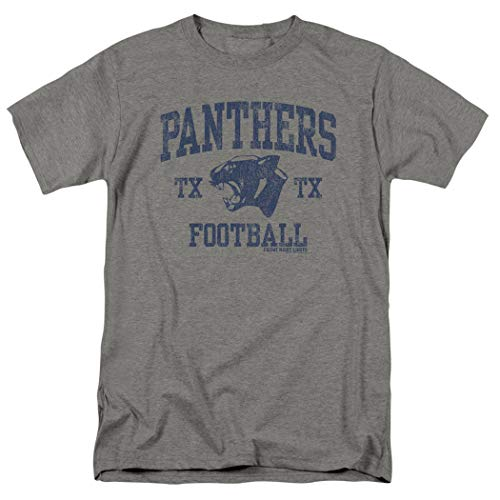 - Friday Night Lights Panthers Football T Shirt & Exclusive Stickers (Large) Gray