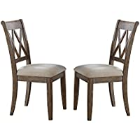 Steve Silver Company Franco Dining Chairs, Set of 2