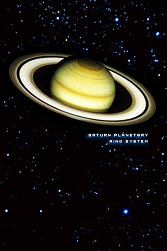 Saturn Planetary Ring System: Blank Line Notebook Journal ()