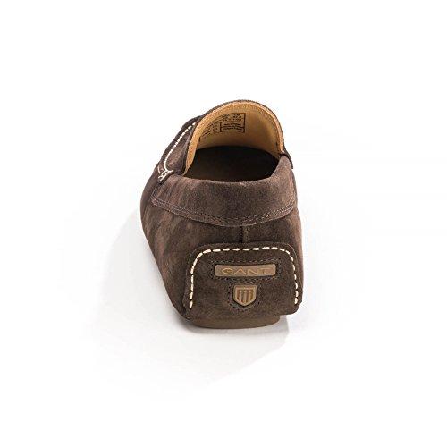 color Men 's Gant Mocasines oscuro Austin marrón de qTaqwPZdX