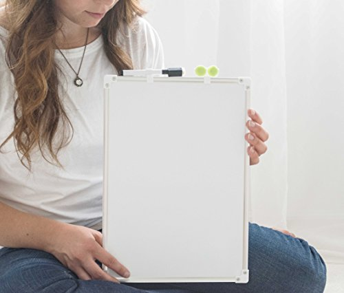 Oversize Planner by ABI Digital Solutions Student Dry Erase Writing Board – Double Sided Magnetic Lap Board 9x13 Desk White Board by Oversize Planner by ABI Digital Solutions
