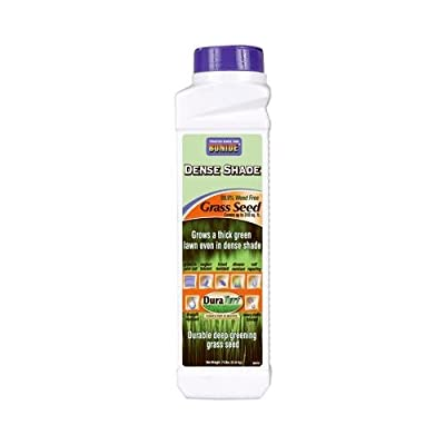 Bonide Products 60210 Duraturf Grass Seed, Dense Shade, 12-oz.