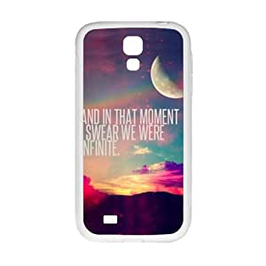 perks of being a wallflower quotes Phone Case for Samsung Galaxy S4 Case