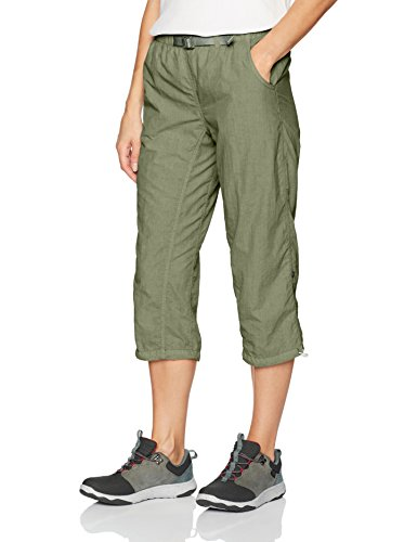 (White Sierra Lihue Capri, Deep Lichen Green, Medium)