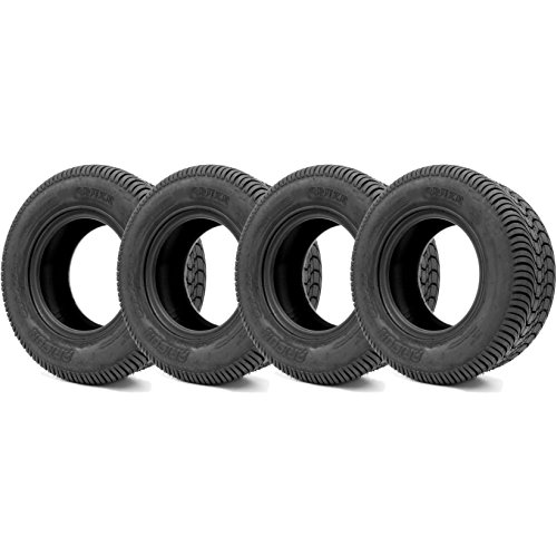 Arisun 205/65-10 DOT Street Tires for EZGO, Club Car, Yamaha Golf Carts (205/65-10, Set of 4 Tires)
