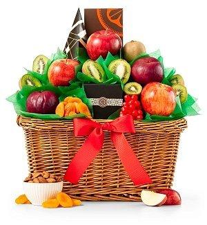 ruit Gift Basket - Assortment of Fresh Fruit, Premium Snack Food (Gifttree Fruit Basket)