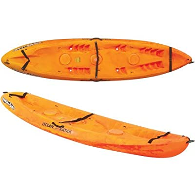 07.6010.1030-Parent Ocean Kayak 12ft Malibu Two Tandem Sit-On-Top Recreational Kayak