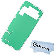 EShine Battery Back Cover Adhesive Sticker for Samsung Galaxy S6 G920 (ALL CARRIERS)+ EShine Cloth