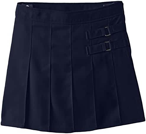 French Toast Girls' Two-Tab Pleated Scooter