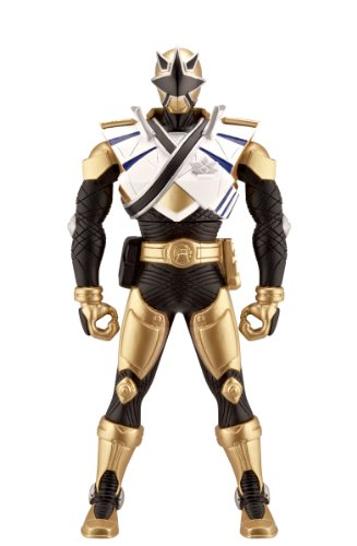 [Power Ranger 6.5 inch Morphin Figure Gold Ranger with Action] (Mega Morph Suits)