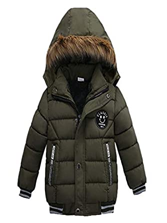 VEKDONE Baby Girls Boys Kids Down Jacket Coat Down Feather Winter Warm Children Clothes