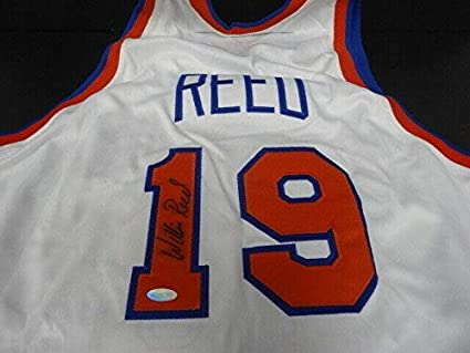 best sneakers 1c18e d5a39 Willis Reed Autographed Jersey - Mitchell & Ness - Steiner ...