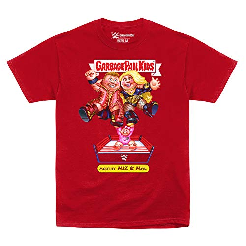 - WWE The Miz Mouthy Miz & Mrs Garbage Pail Kids T-Shirt Black 2XL