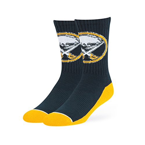 NHL Buffalo Sabres OTS Anthem Sport Sock, Navy, Large