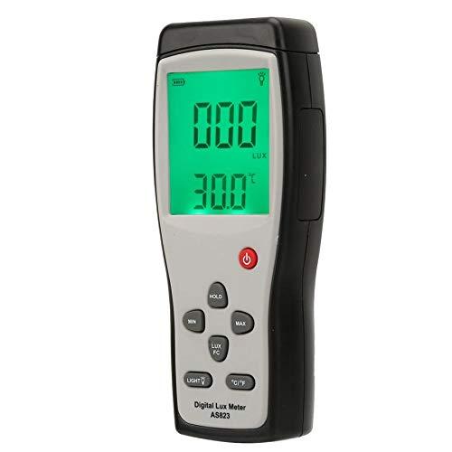 SMART SENSOR AS823 Photometer Illuminometer Digital Luxmeter Illuminance Light Meter Luxmeter by Christian