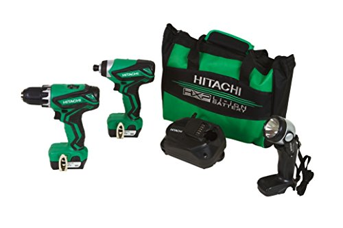 Hitachi KC10DFL2 12V Peak Cordless Lithium Ion Compact Drill