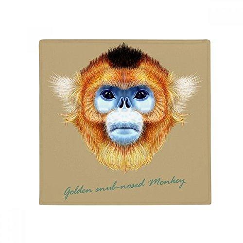 ub-nosed Monkey Animal Anti-slip Floor Pet Mat Square Home Kitchen Door 80cm Gift ()