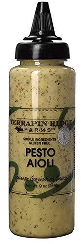 Terrapin Ridge Farms - Pesto Aioli Garnishing Squeeze, 9 oz