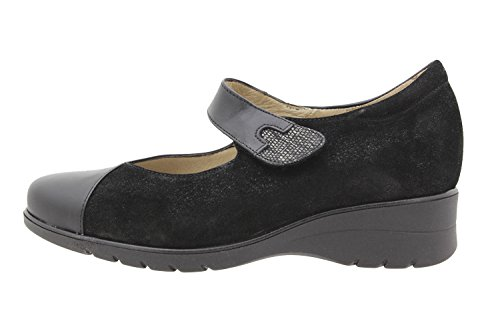 shoe comfort wide jean comfort 9953 leather Piesanto casual Woman mary shoes 8dP8fwq