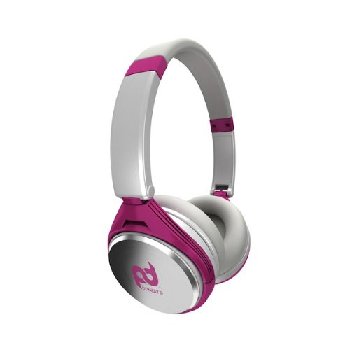 SMS Audio SMS-PD-ON-002 DJ Pauly D Wired On-Ear Headphones - White and ()