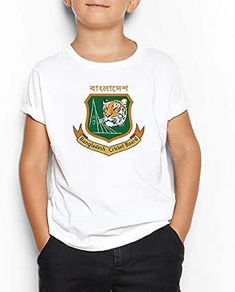Bangladesh Cricket Team Round Neck T-Shirt For Kids 5-6 Years