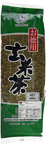 Ujinotsuyu Tokuyo Green Tea Roasted Rice GenmaiCha,14.1oz